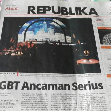 Dispatches: LGBT Backlash in Indonesia