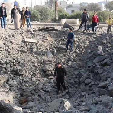 Siria: Civiles en Azaz corren grave peligro