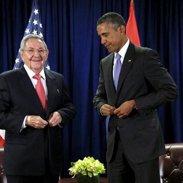 US/Cuba: Credibility of Obama Policy on the Line