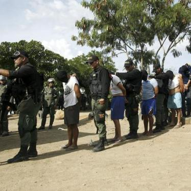 Venezuela: Police Raids Hit Poor Areas