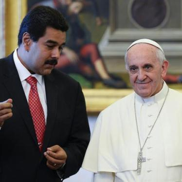Venezuela: Carta al Papa Francisco