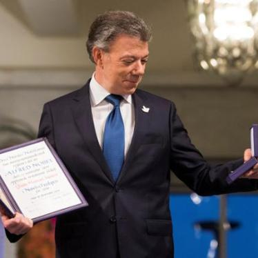 How Santos Tarnished His Peace Prize