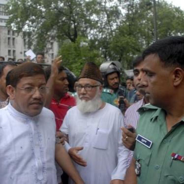 Bangladesh: Suspend Death Penalty for War Crimes Convict