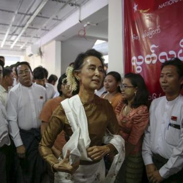 Burma: Election Points Path to Rights Progress