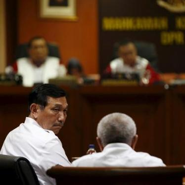 Indonesia: Terror Law Amendments Should Not Threaten Rights