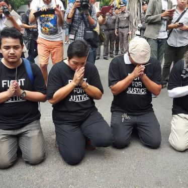 Thailand: New Whitewash of 2010 Political Violence