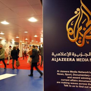 Iraq: Al Jazeera Closure a Blow to Free Speech