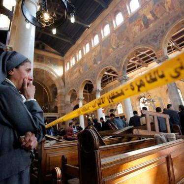 Egypt: Deadly Bombing at Coptic Cathedral