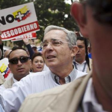 Colombia Peace Deal's Unwelcome Critic