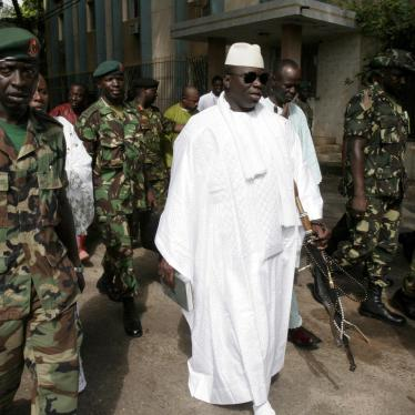 Gambia's Security Forces Must Put Human Rights Above Loyalty to Yahya Jammeh