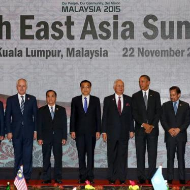 US/ASEAN: Make Rights Central to Summit