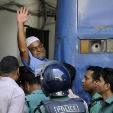Bangladesh: Halt Imminent War Crimes Executions