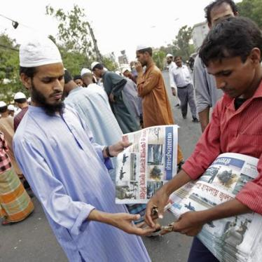 Bangladesh: Charging Editors Is Dramatic Backslide