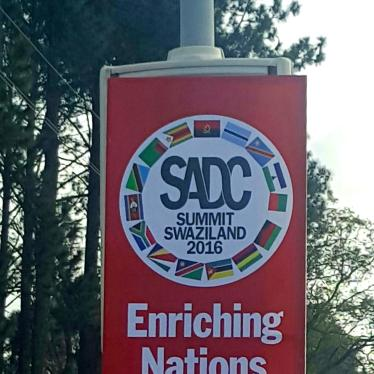 SADC: Reverse Downward Slide on Rights