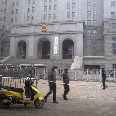 中国:应停止控告人权律师