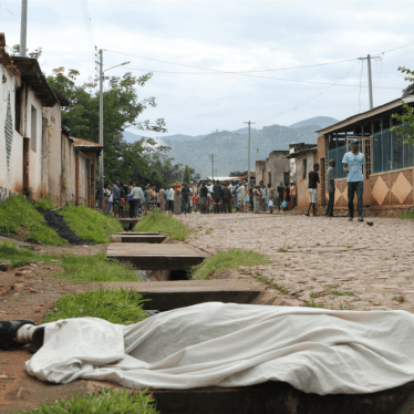 Not the Time to Look Away on Burundi