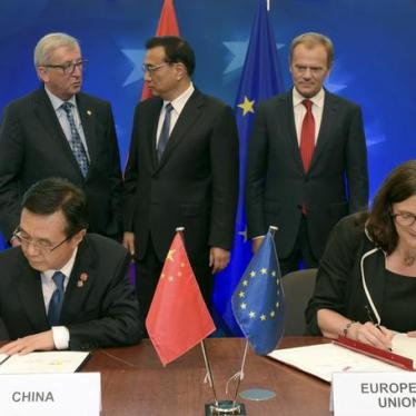 China: EU Should Press for Action to End Crackdown