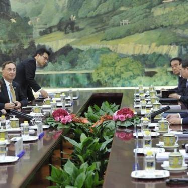 China: UN Chief Should Stress Rights Erosion