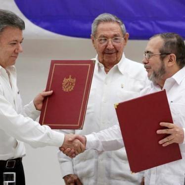 Colombie : L'accord de paix est une occasion cruciale d'endiguer les violations des droits humains