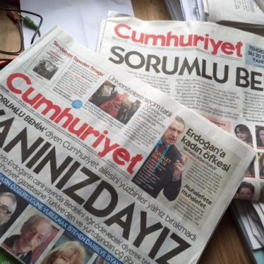 Turkey: Journalism on Trial