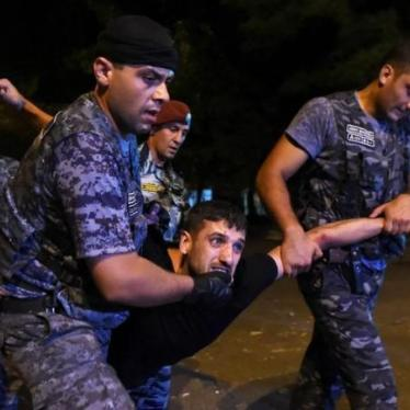 Armenia: Arbitrary Detentions, Brutal Beatings