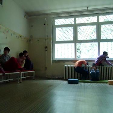 Serbian Children with Disabilities Left Out of School