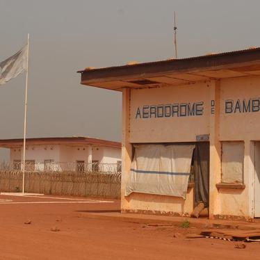 Central African Republic: Rape by Peacekeepers