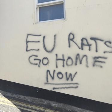 Britain's Brexit Hate Crime Problem