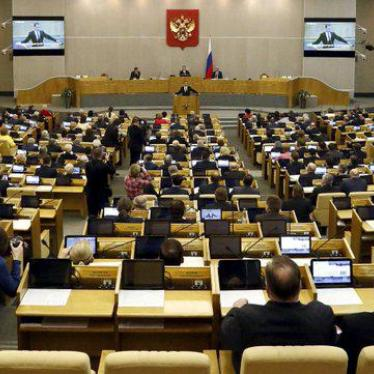 Russia: Sham Upgrade for 'Foreign Agents' Law