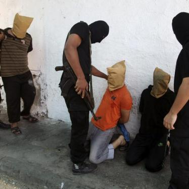 Dispatches: Executions In Gaza Do Not Mean Justice