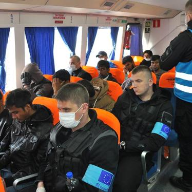 EU/Greece: First Turkey Deportations Riddled With Abuse