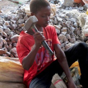 童工为全球创造盈利却身受其害
