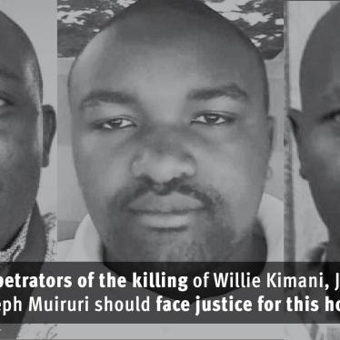 Kenya: Investigate Killings of Lawyer, Two Men