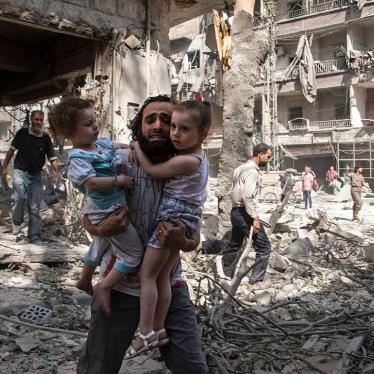 UN rights body should mandate special inquiry into rights abuses in Aleppo