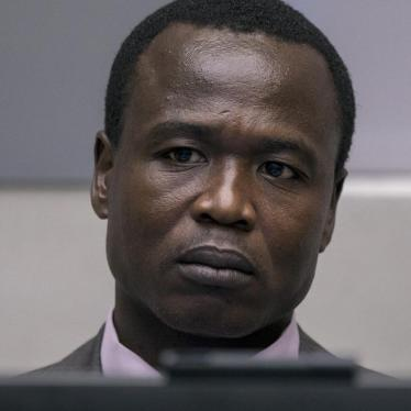 Ongwen at the ICC, January 21, 2016
