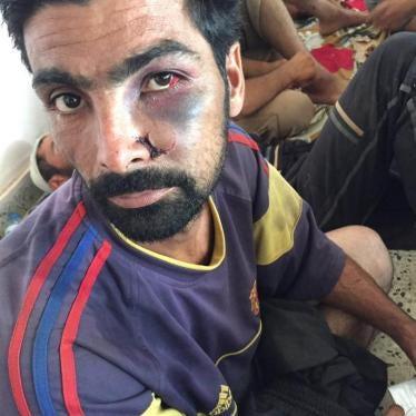 Iraq: Fallujah Abuses Test Control of Militias