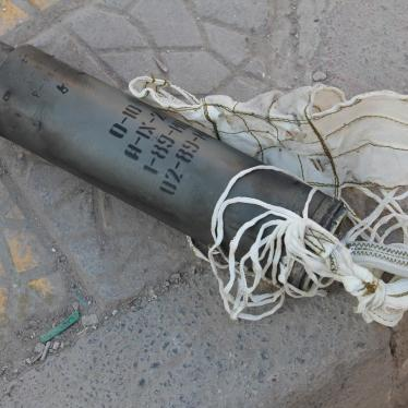 Russia/Syria: Daily Cluster Munition Attacks