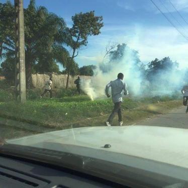 DR Congo: Crackdown on Presidential Aspirant