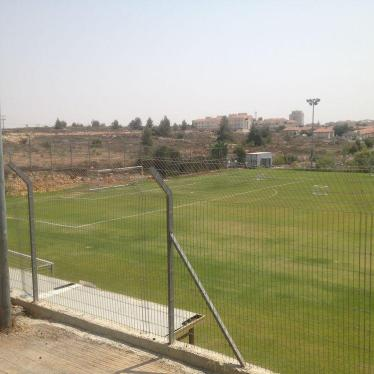 Israel/Palestine: FIFA Sponsoring Games on Seized Land