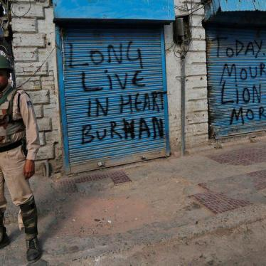 Key to Ending Kashmir's Cycles of Violence: Respecting Rights, Ensuring Justice
