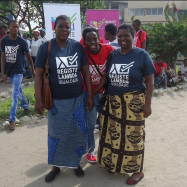 Dispatches: Mozambique's Double Speak on LGBT Rights