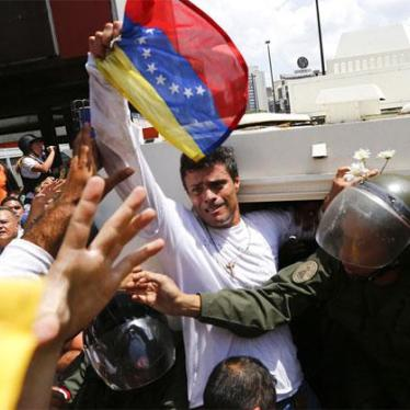 For Leopoldo López, 1,000 days as Maduro's Hostage