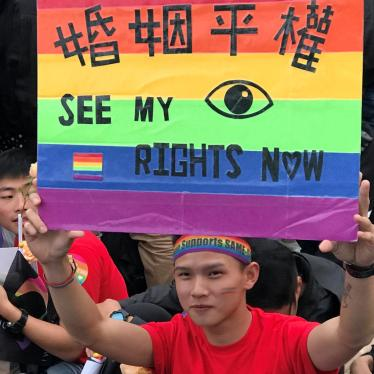 Eyeing Marriage Equality for Taiwan