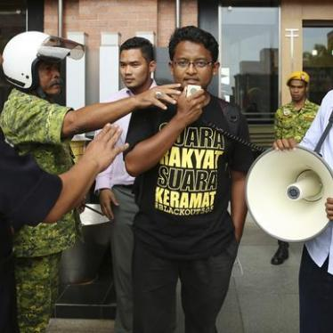 Malaysia: Stop Punishing Students for Speech