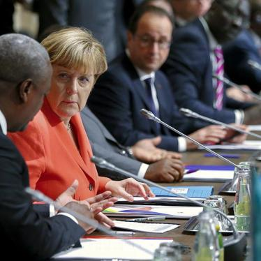 Germany: Merkel Should Press Rights on Africa Trip