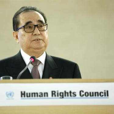 Q & A: UN Human Rights Council Resolution on North Korea