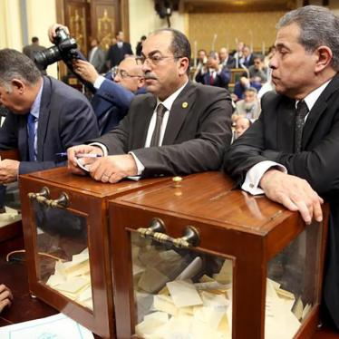 Egypt: New Parliament Should Fix Abusive Laws