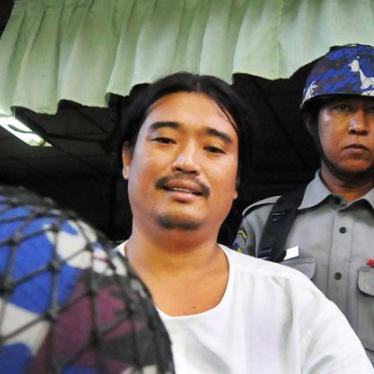 Dispatches: Punishing Burma's Activists