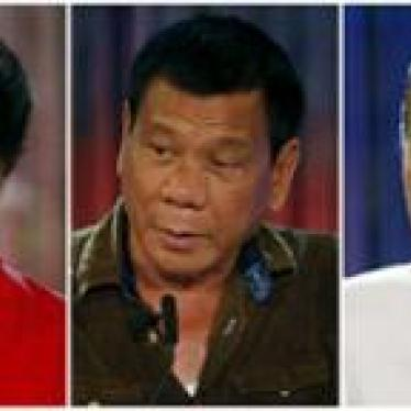 Philippines: Candidates' Views on Rights in Spotlight