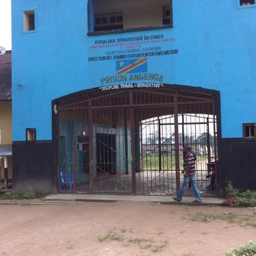 DR Congo: Children Held in Remote Military Prison